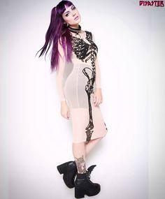 Vestido de mesh Iron Fist!  ENVIOS 24 H A TODA ESPAÑA. WWW.DISASTER.ES  ya en calle Córdoba6 Málaga Soho @disasterstreetwear @theplacesoho  #ironfist #ironfistclothing #mesh #dress #skull #esqueleto #vestido #nude #crude #goth #Málaga #disasterstreetwear #theplacesoho #love #girl #chica #mujer