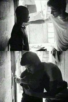 FOR YOU he's muslim he smoke... he's not good enough... he's terrorist...  FOR ME idol... hero... human... superman... husband