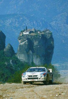 Markku Alen, Lancia 037, Rally Acropolis (1983).