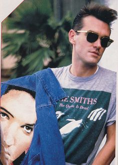 Morrissey in the '80s/'90s - he set the standard for intelligent, bespectacled men.....