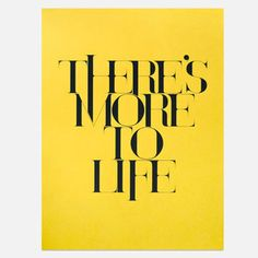 Ugmonk More To Life Print 18x24 now featured on Fab.