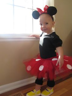 School Time Snippets: DIY Minnie Mouse Tutu
