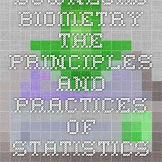 Download biometry the principles and practices of statistics in biological research ebook pdf