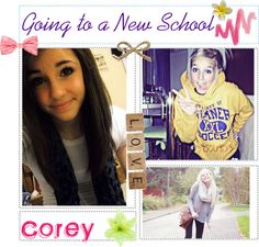 """""""Going to a New School!"""" by totally-tipsy-girls ❤ liked on Polyvore"""