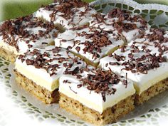 Druh receptu: Sladkosti - Page 53 of 325 - Mňamky-Recepty. Tiramisu Cheesecake, Cheese Dessert, Cheese Tarts, Something Sweet, Cheesecakes, Cake Cookies, Biscotti, Oreo, Bakery