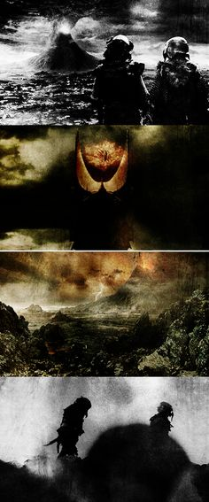 in the land of Mordor, where the shadows lie #lotr