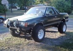 jacked up subaru brat - Google Search
