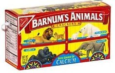 Today is the birthday of Animal Crackers, that much-favored childhood (and adult, who are we kidding! Animal crackers first came to the United States in the late century as a British import. Demand went wild (little animal humor there Circus Theme, Circus Party, Circus Birthday, Birthday Ideas, 2nd Birthday, Circus Train, Birthday Parties, Carousel Party, 90s Theme