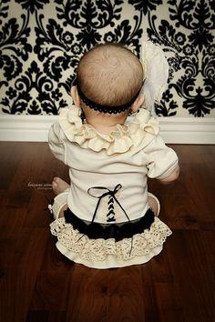 Baby girl ONSIE! Simply CUTE!!