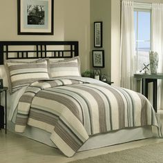 Shop Wayfair for Retro Chic East Hampton Reversible Quilt Set - Great Deals on all Bed  and  Bath products with the best selection to choose from!