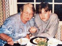 Ο Leonardo DiCaprio με την γιαγιά από τη μεριά της μητέρας του