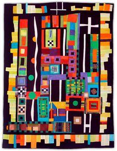 Joyce Seagram - art quilts