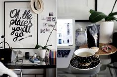 How to create a beautiful and inspiring workspace: There's something to be said about the power of a beautiful and organised workspace that can inspire a little magic in any ordinary day.