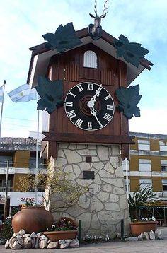 Reloj cucu, Villa Carlos Paz