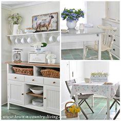 Farmhouse Kitchen Features