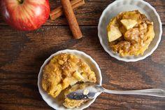 Mini Apple Cinnamon French Toast Casseroles ~ http://www.healthy-delicious.com