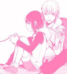 Daddy Aesthetic, Pink Aesthetic, Aesthetic Anime, Manga Art, Manga Anime, Anime Art, Manga Love, Anime Love, Kuzu No Honkai Manga