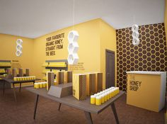 The Honey Shop - Studio Kiev