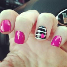 nail art for firefighter - Google Search