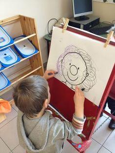 schrijfmotoriek Clown Cirque, Le Clown, Circus Clown, Circus Theme, Dyslexia Activities, Preschool Activities, Theme Carnaval, Apple Theme, Programming For Kids