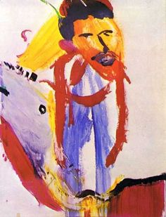 captain beefheart / don van vliet - painting - 'zoot horn rollo' (bill