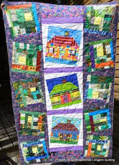 Sonja's Batty House quilt!