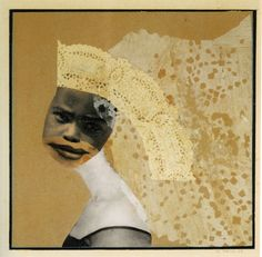 Hannah Höch—The Bride, 1933 - photomontage with collage elements, 7 x 7 inches. Even the simplest of her images are built from a complex array of pictorial fragments, which in the work of the teens and often reached reckless heights. Dada Collage, Collage Kunst, Collage Drawing, Collage Artists, Surrealist Collage, Piet Mondrian, Collages, Man Ray, Photomontage
