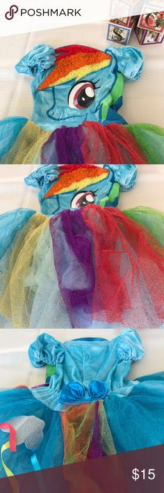 My Little Pony dress up Cute as can be My Little Pony costume See pics Very good shape My Little Pony Costumes Halloween