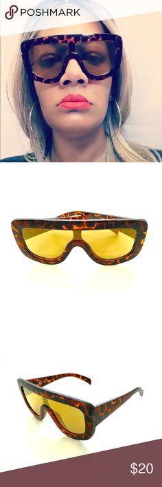 140844303136 I just added this listing on Poshmark  Off Duty Shield Sunglasses- Tortoise  Frame.