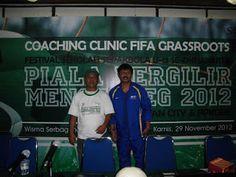 SEKOLAH SEPAK BOLA PENDEKAR: COACHING CLINIC FIFA GRASSROOTS