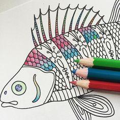 #fish #coloring #dagdrömmar