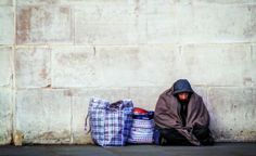 The 'homeless capital' of the north-east wants to fine homeless people for accepting food from passersby