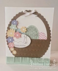 Good Morning, Stampers!   A tisket, a tasket, a little easter basket! It's so easy to create this little chocolate basket with the help of t...