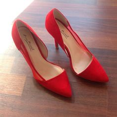 Heels Worn once for pics only in excellent condition comes in box with original packaging Ann Michelle Shoes Heels