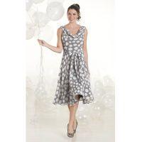 Misses' Scattered Dots Dress
