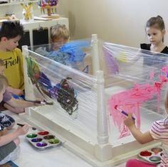 open-ended art will allow children to demonstrate exactly what is important to them. open-ended art will allow children to demonstrate exactly what is important to them. Nursery Activities, Infant Activities, Painting For Kids, Art For Kids, Art Children, Painting Art, Paintings, Reggio Children, Children Painting