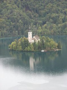 The  lake bled  Solevenia
