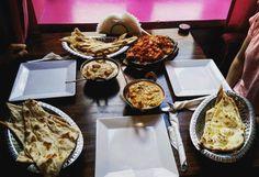 Co powiecie na taki indyjski posiłek? ;) Fotografia opublikowana przez użytkownika macietos na Instagram.com