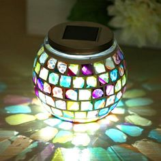 Colorful Energe Saving Home Decor LED Night Light - Mobile Home Gadgets, Gadgets Online, Solar Lamp, Led Night Light, Night Lights, Gadget Gifts, Color Changing Led, Night Lamps, Solar Energy