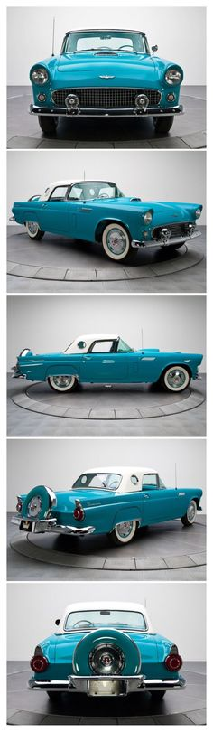 1956 Ford Thunderbird..Re-pin Brought to you by agents of car insurance at #HouseofInsurance in #EugeneOregon for #CarInsurance
