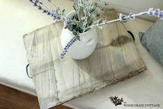 diy weathered wood tray
