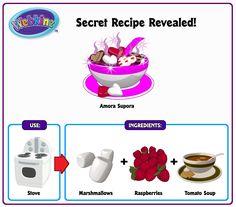 Recipe Revealed - Amora Supora