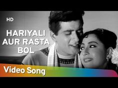 Bol Meri Taqdeer Mein Kya (Title Song) | Hariyali Aur Rasta (1962) | Manoj Kumar | Mala Sinha - YouTube Manoj Kumar, Lata Mangeshkar, Amitabh Bachchan, Yoga Poses, Movie Stars, Youtube, Singer, Morse Code, Music