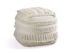 Charlie Ivory Shag Pouf - Come take a peek at more Arhaus French Vintage Timeless Furniture, Decor and Lighting on Hello Lovely Studio. ]Source by Leather Pouf, Leather Ottoman, Pouf Ottoman, Louis Xvi, French Farmhouse Decor, Coastal Farmhouse, Country French, Square Pouf, Ottoman In Living Room