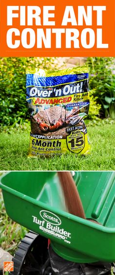 Fire ant control couldn't get any easier. Try these two easy steps to rid your lawn of Kill Fire Ants, Organic Gardening, Gardening Tips, Turf Builder, Garden Guide, Garden Ideas, Pest Control, Bug Control, Lawn Care