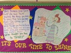 Testing Bulletin Board-Motivation from Miss Bonkers, Hooray for Diffendoofer Day