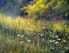 """Along the Road by Kathy McDonnell Pastel ~ 8"""" x 10"""""""