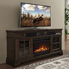 Best Electric Fireplace TV Stand Design Ideas For Your Family Room Living Room Tv, Apartment Living, Dining Room, Electric Fireplace Tv Stand, Electric Fireplaces, Tv Console With Fireplace, Fireplace Bookshelves, Faux Fireplace, Modern Fireplace