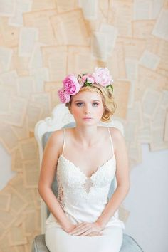 Lovely Bridal Hairstyles  #WeddingHairstyles