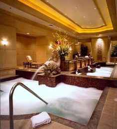 Canyon Ranch at the Venetian, Las Vegas, NV me & the hubs loved this spa, loved the hotel!  I want to go back some day and just stay a week!